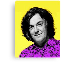 Top Gear Inspired Pop Art James May Canvas Print