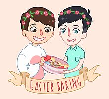Easter Baking  by ruvillie