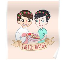 Easter Baking  Poster
