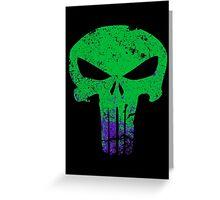 Gamma Punisher Greeting Card
