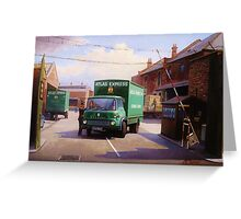 Bedford TK 1962 Greeting Card