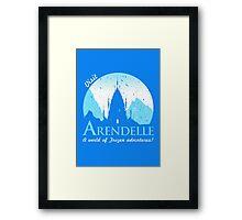 Visit Arendelle Framed Print