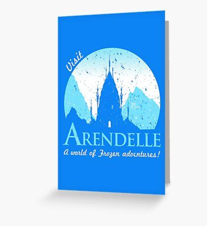 Visit Arendelle Greeting Card