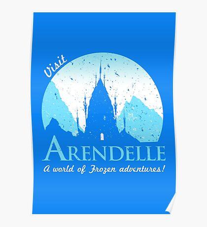 Visit Arendelle Poster