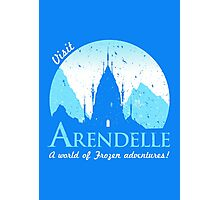 Visit Arendelle Photographic Print