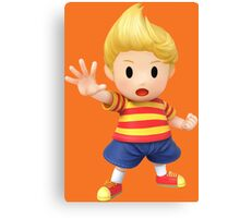 Lucas Super Smash Bros. for Wii U and 3DS Canvas Print