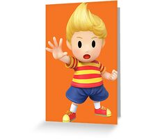 Lucas Super Smash Bros. for Wii U and 3DS Greeting Card