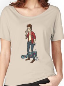Keith Richards Cartoon Tshirt Women's Relaxed Fit T-Shirt