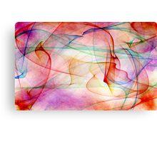 A Flaming Paradox Canvas Print