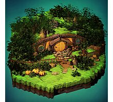 Lord of the Rings - The Hobbit - Shire Photographic Print