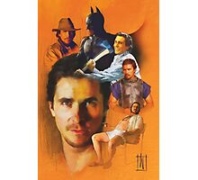 Christian Bale Poster Photographic Print