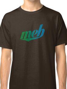 meh - Swoosh style - Green/blue Classic T-Shirt