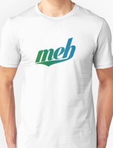 meh - Swoosh style - Green/blue T-Shirt