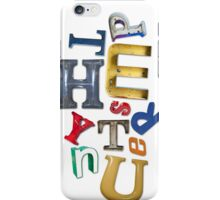 Letter Junkie iPhone Case iPhone Case/Skin