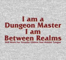 Dungeon Master, Between Realms One Piece - Short Sleeve