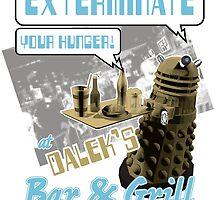 Dalek's Bar & Grill by Dru Woodard