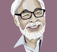 Hayao Miyazaki by science-of-me