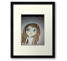 This is Blythe Framed Print