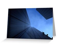 If There's No Windows, They Can't Jump Out. Greeting Card