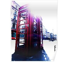 london in love telephone Poster