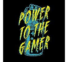 Power to the Gamer! Photographic Print