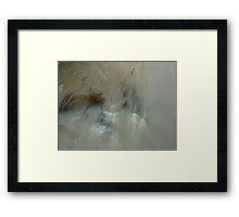 Milky water Framed Print