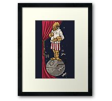 Foolish Mortals...It's a Trap! Framed Print