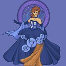 Gallifreyan Girl by Karen  Hallion