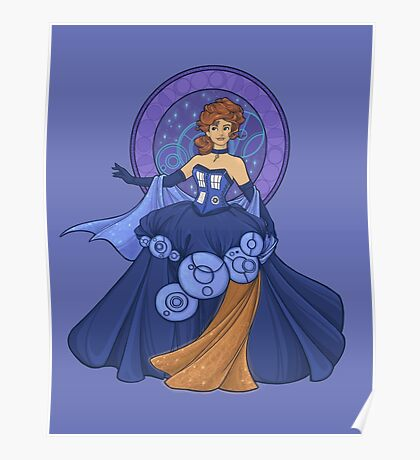Gallifreyan Girl Poster