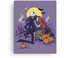 Halloween Hero Canvas Print
