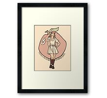 Queen of Diamonds Framed Print