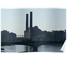 Lots Road Electrical Power Station Poster