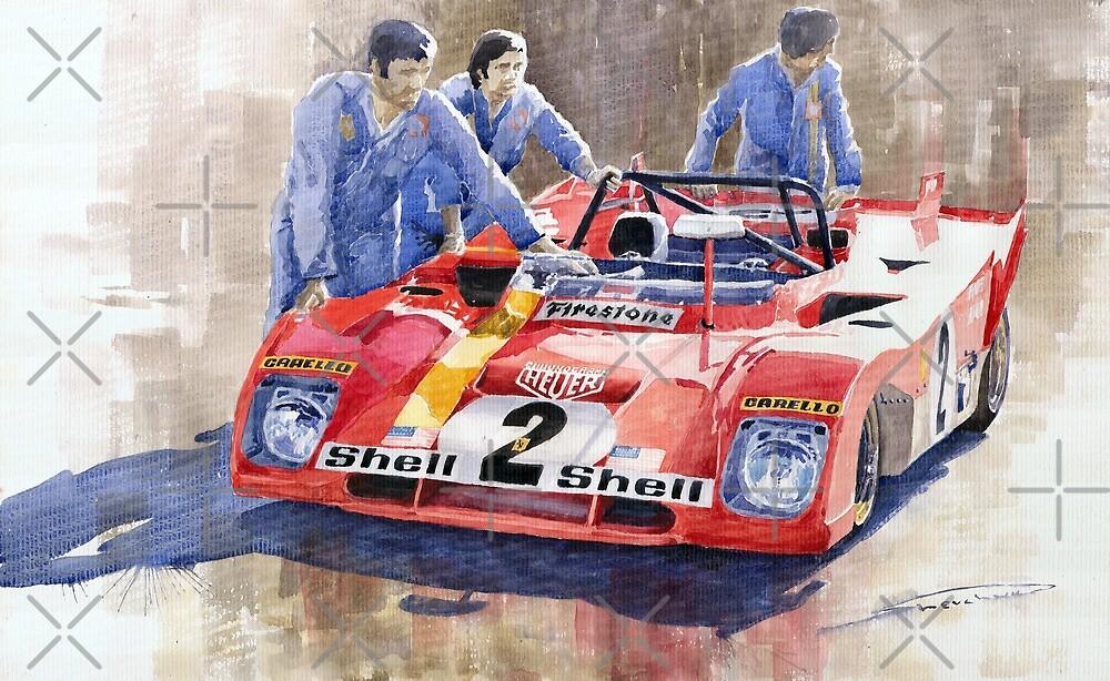 Ferrari 312 PB 1972 Daytona 6-hour winning  by Yuriy Shevchuk