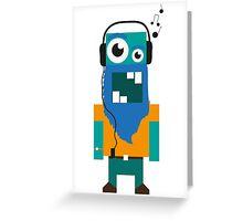 Music Guy Greeting Card