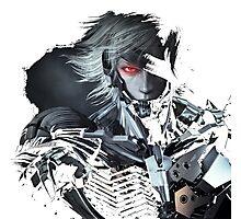 Metal Gear Raiden Photographic Print