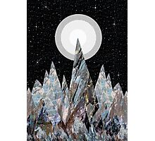 Moon Mountains  Photographic Print