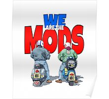 WE ARE THE MODS Poster