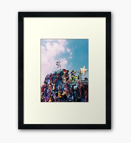 Magical Disney Framed Print