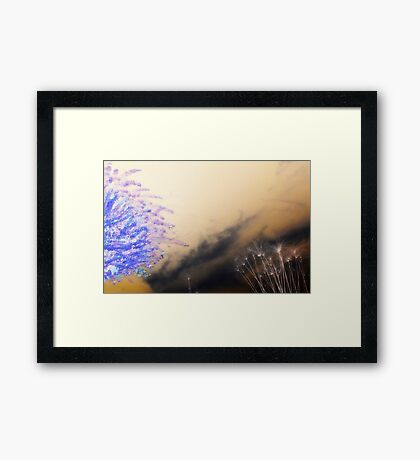 Chase the Dragon Framed Print