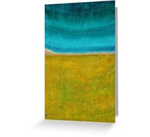 Chamisa in Bloom original painting Greeting Card