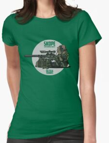 SKOPE (OD Green) Womens Fitted T-Shirt