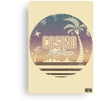 Sonic 2 - Casino Night Zone (Distressed) Canvas Print