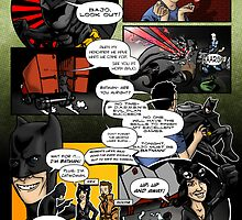 Page 3 of Good Game Batman Comic submission - Colourised! by Michael Lee