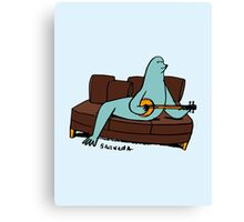 Seal it with a Banjo Song. Canvas Print
