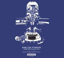 Hamilton Standard Propeller Hub  by warbirdwear
