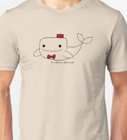 Doctor Whale Unisex T-Shirt