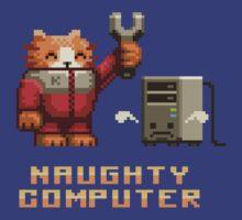 Naughty Computer by Tikipod