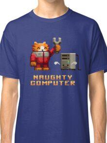 Naughty Computer Classic T-Shirt