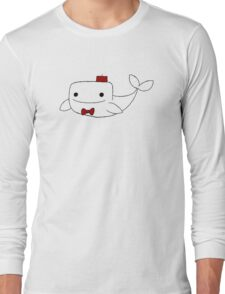 Doctor Whale (Without Text) Long Sleeve T-Shirt