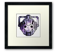 Cyberman From Space Framed Print